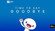 ลาก่อนการขอพิน Blackberry ประกาศปิดบริการแอพ BBM วันที่ 31 พฤษภาคมนี้