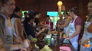 ฝรั่งติดใจเรียนทำส้มตำ-ยำหัวปลี เข้าถึงวัฒนธรรมอาหารไทย