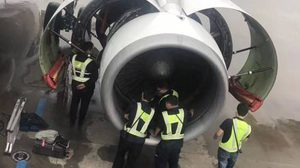 วุ่นทั้งสนามบิน!! คุณยายชาวจีน อุตริโยนเหรียญ เข้าไปในเครื่องยนต์เครื่องบิน