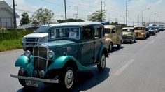 สมาคมรถโบราณฯ จัด คาราวานชานกรุง ส่งเสริมการท่องเที่ยวย้อนยุค