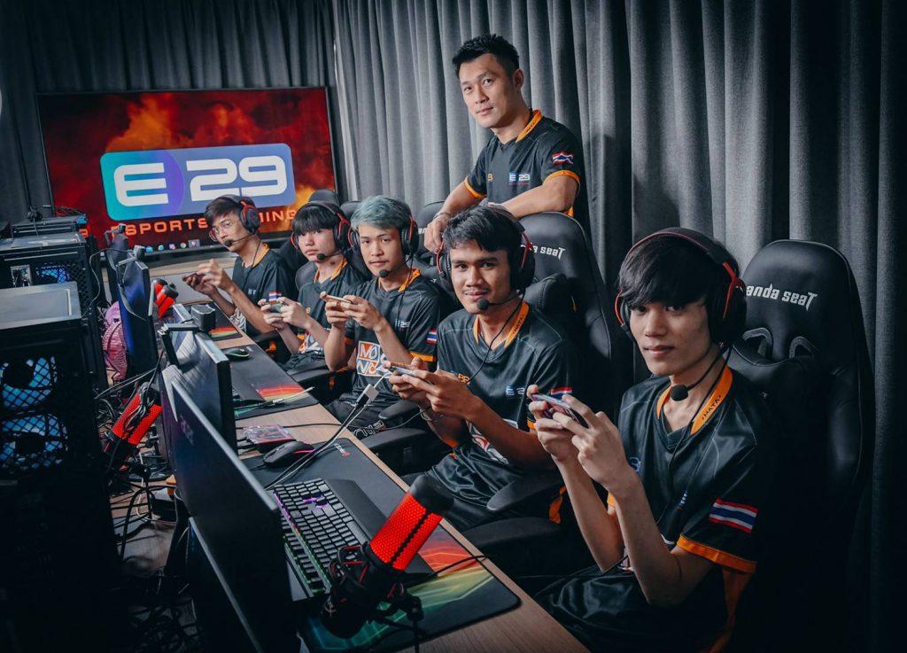 ทีม E29 Esports Gaming พร้อมสู้ศึก PUBG MOBILE PRO LEAGUE Thailand Season 3
