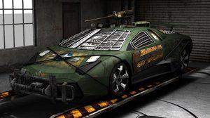 Lamborghini Reventon กับภาพ render การแปลงโฉมให้เป็นรถลุยฝูง Zombie