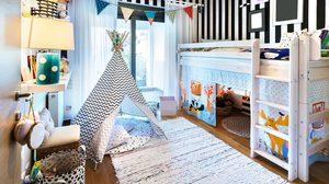 9 ไอเดียแต่ง ห้องนอนเด็ก น่ารักสดใสหลากสไตล์แจ่มว้าวสุดๆ