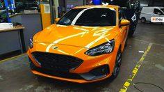 เผยโฉม Ford Focus ST 2019 Hot Hatch สายพันธุ์อเมริกัน ตัวใหม่ล่าสุด