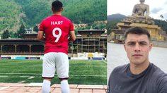 """เปิดโลก! """"เจย์ ฮาร์ท"""" นักเตะจอมเสเพลหนีชีวิตตกต่ำมาค้าแข้งใน ภูฏาน"""