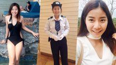 ยกนิ้วให้เลย!! สาวน่ารัก จูน วัลย์ลดา นศ.มหาลัยดัง รับงานพิเศษเป็น รปภ. ประจำห้าง