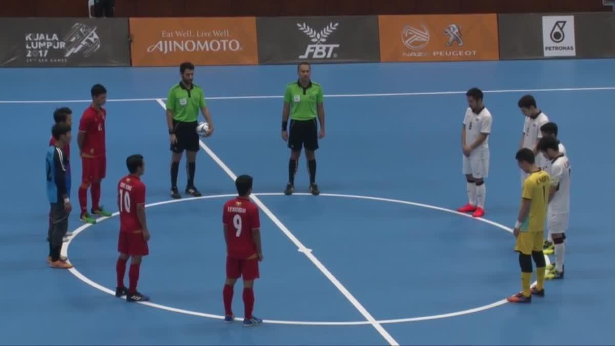 ไฮไลท์ฟุตซอลชาย ซีเกมส์ 2017 ระหว่าง ทีมชาติไทย 10-2 ทีมชาติเมียนมาร์