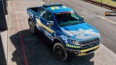 Ford Ranger Raptor แปลงโฉมเป็น รถเซอร์วิส ในสนามแข่งรถที่ ออสเตรเลีย
