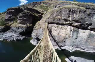 สะพานเชือกอินคา ขึ้นเป็นมรดกโลก