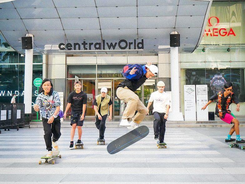 เซ็นทรัลพัฒนาขยาย 19 สาขาเล่นฟรี Surf Skate แลนด์มาร์ก ลานสเก็ตใหญ่ที่สุดใจกลางเมือง