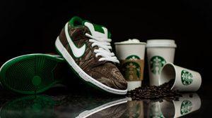 น่าโดนมาก Nike SB Dunk Low Premium Starbucks edition รองเท้าแรงบันดาลใจจากกาแฟ
