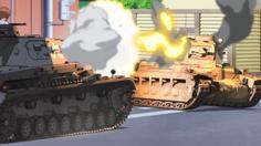 สาวน้อยรถถัง Girls und Panzer คว้ารางวัลด้านส่งเสริมภาพลักษณ์