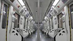 น่ารักเว่อร์! จีนเปิดตัวรถไฟใต้ดินธีมแพนด้า พร้อมเปิดให้บริการแล้ว