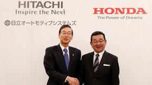 Honda จับมือกับ Hitachi ผลิตและพัฒนารถพลังงานไฟฟ้าร่วมกัน