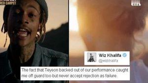 หาตัวคนผิด! Wiz Khalifa, แทยอน, ทีมงาน ใครทำโชว์พิเศษ 2016 MAMA ล่ม!?