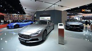 Maserati เอาใจสาวกตรีศูล จัดแสดงยนตรกรรม 3 รุ่นใหม่ ในงานมอเตอร์โชว์ 2019
