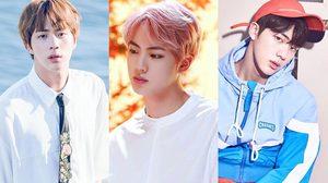 เปิดวาร์ปความหล่อ จิน (Jin) พี่ใหญ่แห่งวง BTS