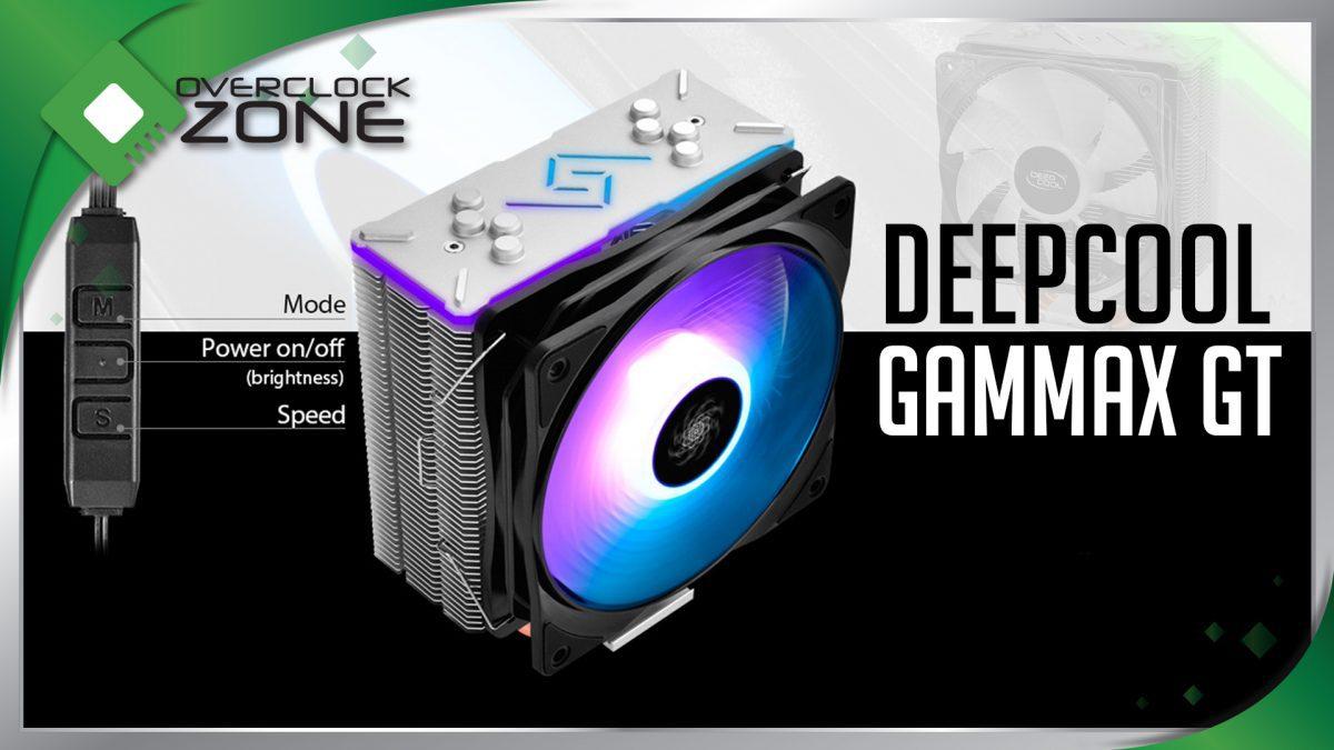 รีวิว DEEPCOOL GAMMAXX GT : RGB Heatsink