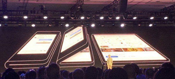 สมาร์ทโฟนจอพับได้ Samsung