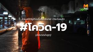 สถิติผู้ติดป่วย #โควิด-19 ในประเทศไทย (ล่าสุด 22/03/2563)