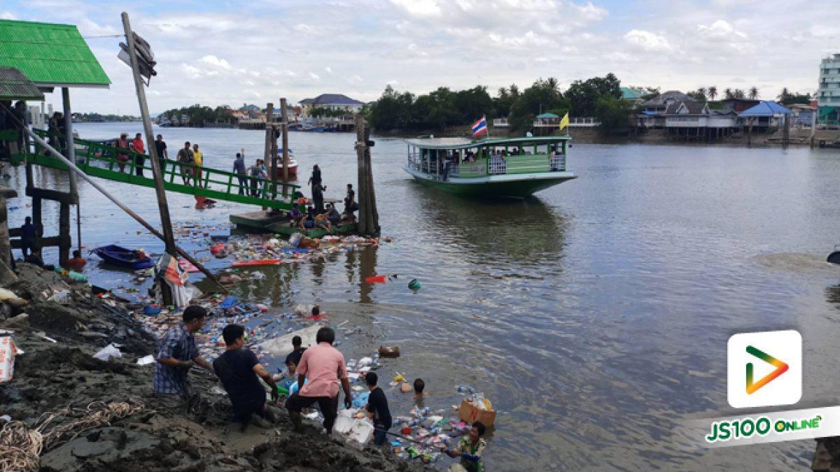 คลิปเจ้าหน้าที่ระดมกำลังช่วยเหลือผู้ประสบภัย จากเหตุศาลาเก่าแก่ริมแม่น้ำแม่กลองพังถล่ม (16-07-62)