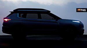 เปิดภาพทีเซอร์ให้เห็น Mitsubishi Engelberg Tourer ในมุมมองด้านข้าง