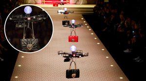 เข้าใจคิด!! Dolce & Gabbana ใช้ โดรน เดินแฟชั่นโชว์บนรันเวย์แทนนางแบบสาวๆ