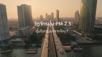 วัฏจักรฝุ่น PM 2.5