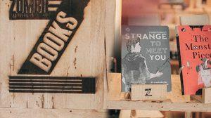 """""""ZOMBIE BOOKS""""ร้านหนังสือสุดอินดี้ใจกลาง RCA"""