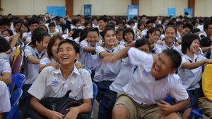 เอ็มไทยร่วมกับ TCSD ในโครงการจ่าฮูกสอนเด็ก ครั้งที่3/2556