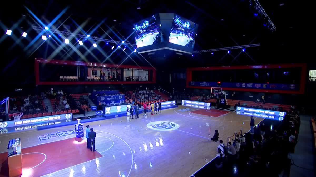 พิธีปิดการเเข่งขัน FIBA ASIA CHAMPIONS CUP 2018
