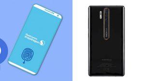 HMD ทดสอบฟีเจอร์สแกนนิ้วมือใต้จอบน Nokia 9 คาดจะใช้หน้าจอที่ผลิตโดย LG