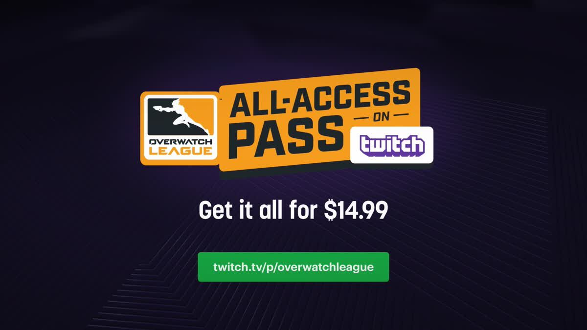Overwatch League All-Access Pass
