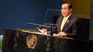 นายกฯ ถก UN ลุยพัฒนายั่งยืน ย้ำไทยมีเลือกตั้งปี 60