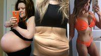คุณแม่น้องแฝด ลดน้ำหนัก 44 กิโล ใน 1 ปี เปลี่ยนจากสาวบิ๊กไซส์ เป็นหุ่นสุดเฟิร์ม