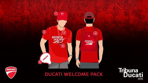 Tribuna Ducati Package
