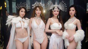 มะมิ้งค์, เนย, ไอซ์, หมวย 4 สาวนางแบบสุดฮอต ในปาร์ตี้ Snow Queen Party @Krystal ทองหล่อ25