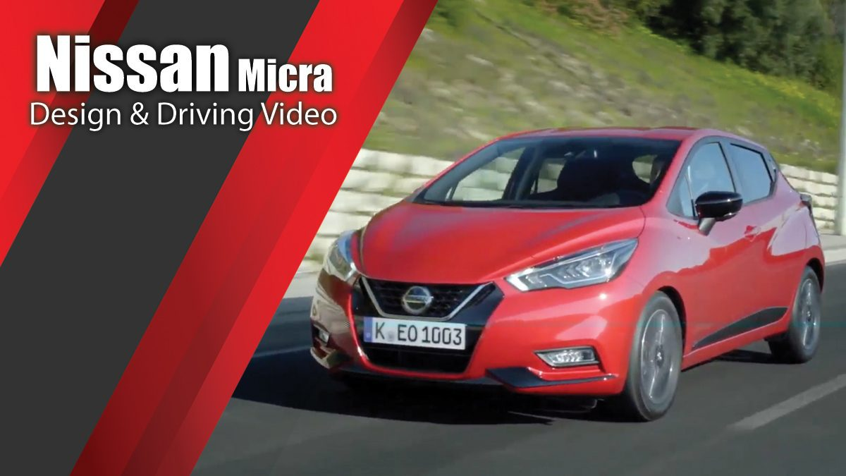 The new Nissan Micra in Red Design & Driving Video