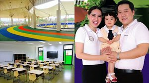 Thai International School-TIS โรงเรียนพันล้าน ของ นุ้ย สุจิรา