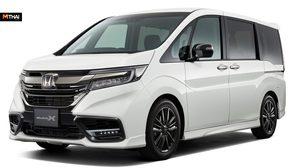 Honda StepWagon รถเอ็มพีวี แต่งเต็มด้วยชุด Modulo X แบบสปอร์ต