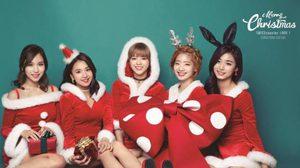 ฮอต! ยอดพรีออเดอร์อัลบั้มคริสต์มาสของ TWICE ทะลุแสนก๊อปปี้!