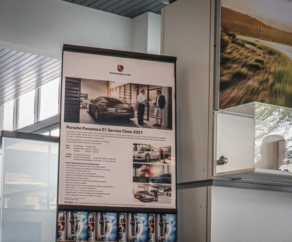 Porsche Panamera Service Clinic 2021