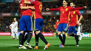 ผลบอล: ขวิดไส้แตก!! สเปน เปิดบ้านไล่ยำ มาซิโดเนีย 4-0 ยึดจ่าฝูงกลุ่ม G เหนียวหนึบ
