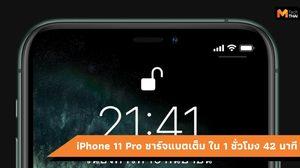 สื่อนอกเผย iPhone 11 Pro ชาร์จแบตเร็วขึ้นใช้เวลา 1 ชั่วโมง 42 นาที