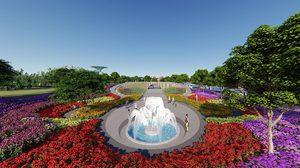 Flower Land Pattaya ดินแดนดอกไม้เมืองหนาว แห่งพัทยา จ.ชลบุรี
