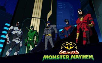 Batman Unlimited: Monster Mayhem แบทแมนถล่มจอมวายร้ายป่วนเมือง