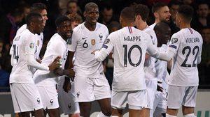 ผลบอล : มอลโดว่า vs ฝรั่งเศส !! ตราไก่ ไร้ปัญหาบุกต้อน มอลโดว่า มรณภาพคารัง 4-1
