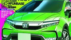 เปิด ภาพ Render Honda Jazz ในรูปแบบ Cross Style