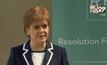 ผู้นำรัฐบาล สก็อตแลนด์สนับสนุนให้อังกฤษอยู่ใน EU