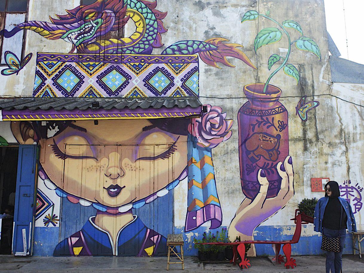 เสน่ห์เมืองเก่า ศิลปะร่วมสมัยเมืองสุโขทัย
